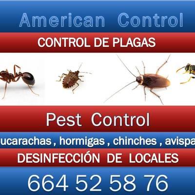 AMERICAN CONTROL  PREVENCION DE PLAGAS