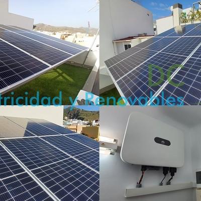 Instalación solar fotovoltaica 5Kw