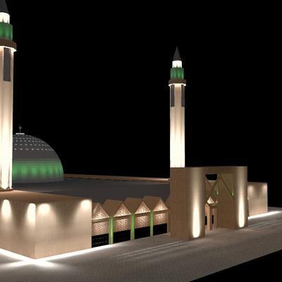 MEZQUITA Universidad de Riyadh