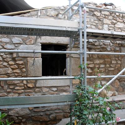 Proceso de obra: fachada