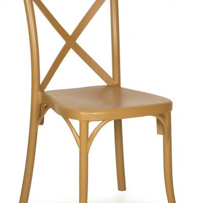 silla cruz color miel