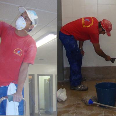 Limpieza de techos y fachadas