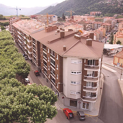 Promoció de 2 edificis d'obra nova al Passeig de la Indústria de Berga