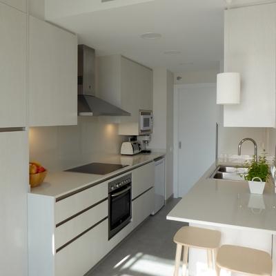 Cocina moderna y urbana a la vez
