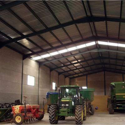 Proyecto de nave almacen de maquinaria agricola