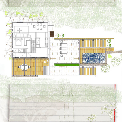 proyecto de reforma vivienda aislada con piscina exterior