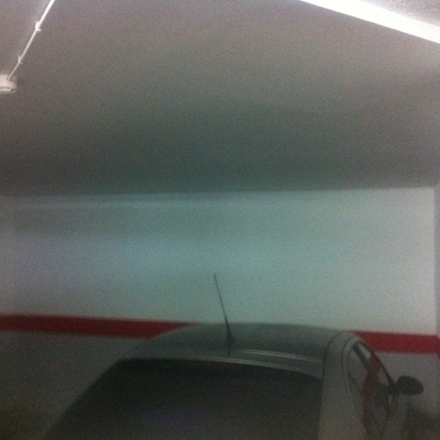 Proyecto de rehabilitación de aparcamiento siniestrado por incendio - despues