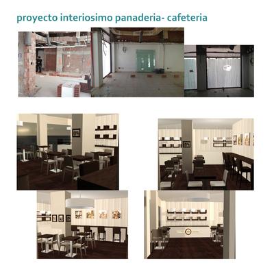 proyecto interiorismo panadería cafeteria