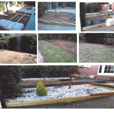 Proyecto diseño y construcción jardín