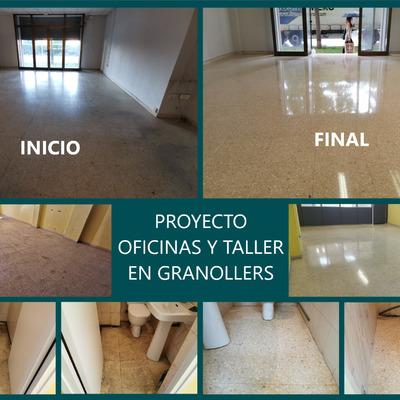 Proyecto Oficinas y Taller Suelo Terrazo