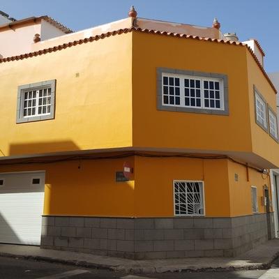 Pintura exterior fachada vivienda