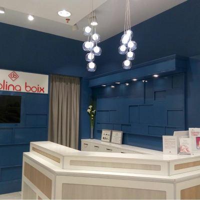 pintura interior local comercial fondo mostrador