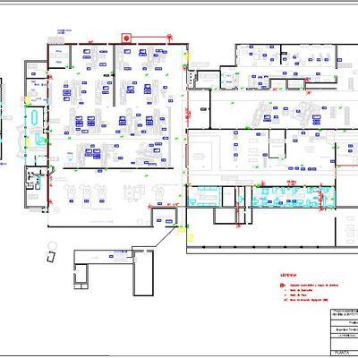 Proyecto protección contra incendios en fundición