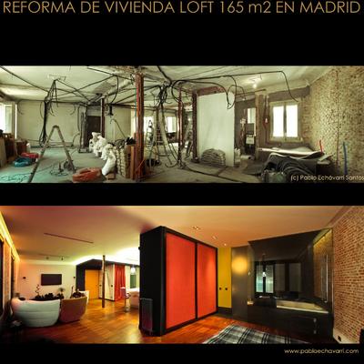 Proyecto reforma vivienda loft de 165m2