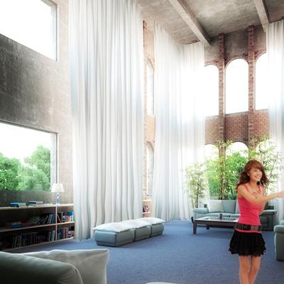 Proyecto, reforma y propuesta de decoración para loft en doble altura.