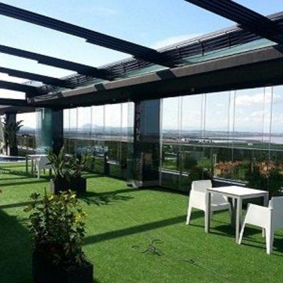 Terraza de un Hotel Madrid