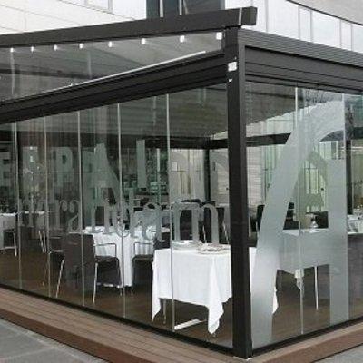 Terraza Restaurante de un Hotel Madrid