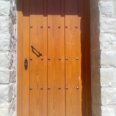 Puerta 1 hoja Tarima separada