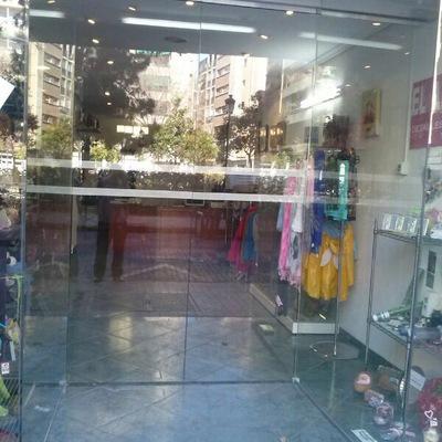 Puerta Automatica con vidrios Laminados