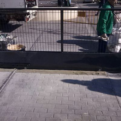 Puerta corredera Automatizada para parking