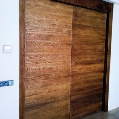 Ideas y fotos de armarios y vestidores de estilo r stico - Armarios de madera maciza ...