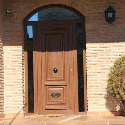 Puerta de exterior de PVC
