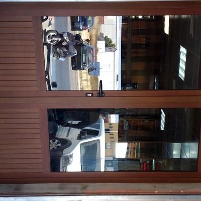 Puerta de entrada a comercio