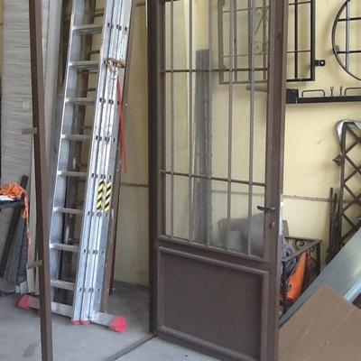 Puerta de entrada con cristal 4+4
