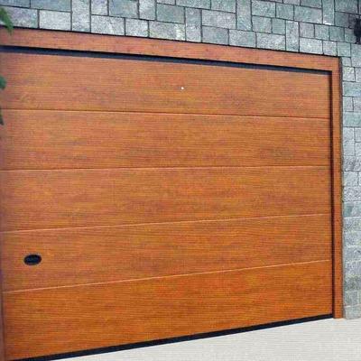 puerta de garake Ferrara madera