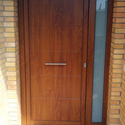 Puerta de Madera imitación Roble