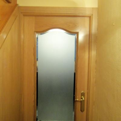 Puerta de roble