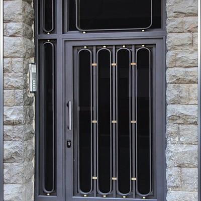 Puerta decorativa de hierro MOD. París