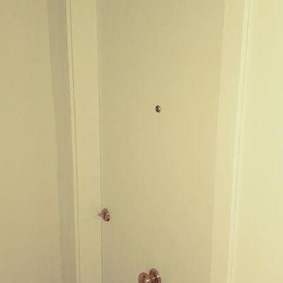 Colocación puerta principal