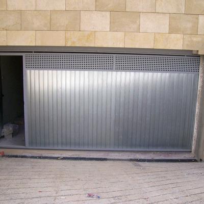 Puerta garaje corredera