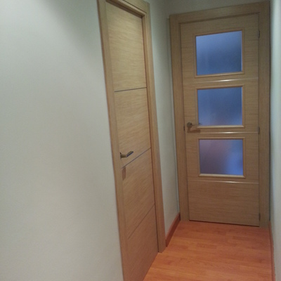 puerta grecas de aluminio