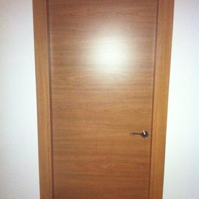 puerta interior de teka
