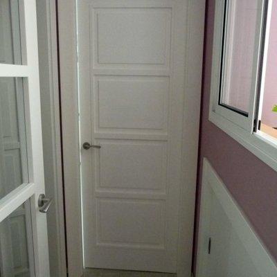 Puerta interior de vivienda