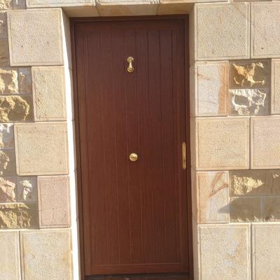 Puerta merendero