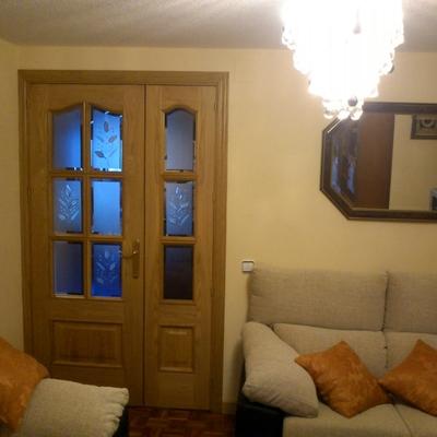 puerta provenzal doble hoja