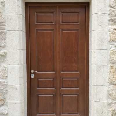 Puerta grado 4  panel exterior