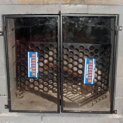 Puertas chimenea