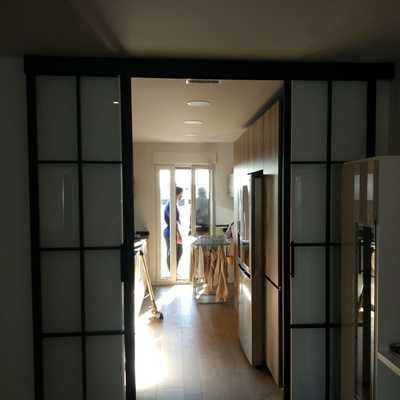 Puertas Correderas con cuarterones