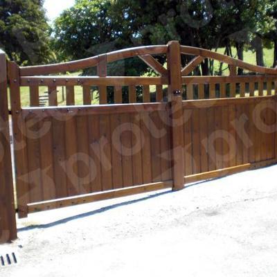 Puertas de madera para el exterior