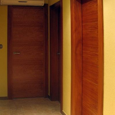 puertas en cedro