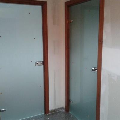 Puertas Templadas en Oficinas