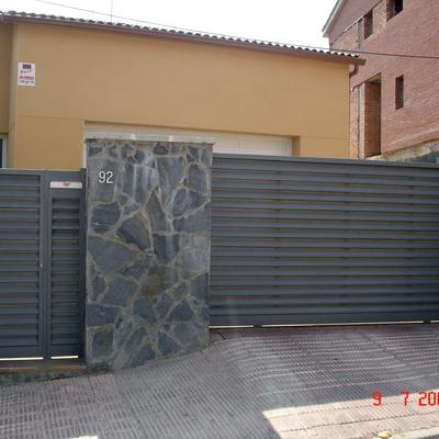 Presupuesto puertas vallas online habitissimo - Puertas de valla ...