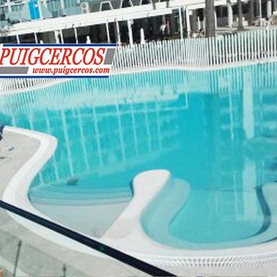 Restauración de piscina para complejo hotelero.