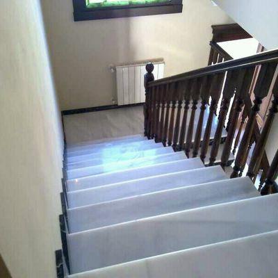 Pulimentado y cristalizado escaleras