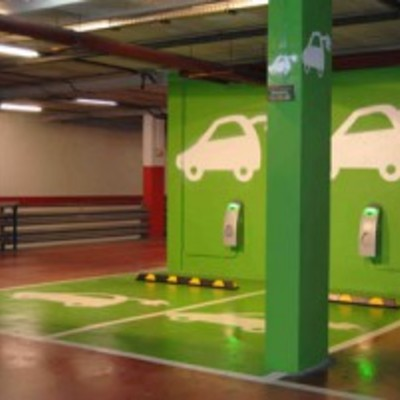 Puntos de recarga eléctrica para vehículos