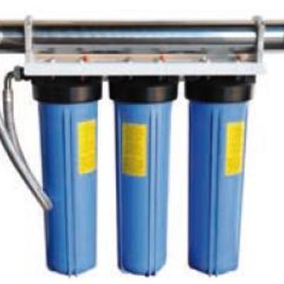 Equipos de filtración, cloración, descalcificadores...